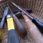 tools to reset Brooks saddle rivets