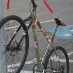 bike makeover - rigid fork, flared drops and two gears
