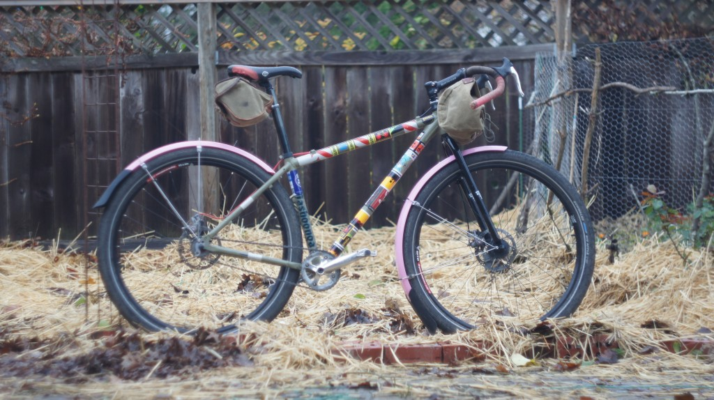 gravel roadster with fenders