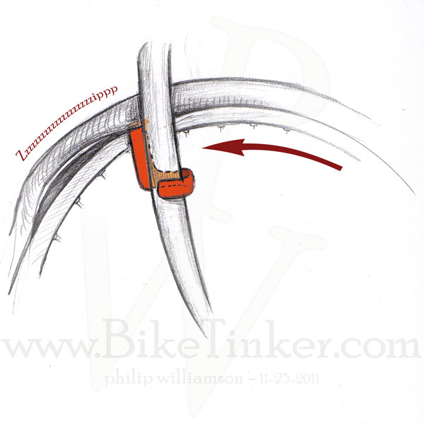 pw drawing of cobra tire tool