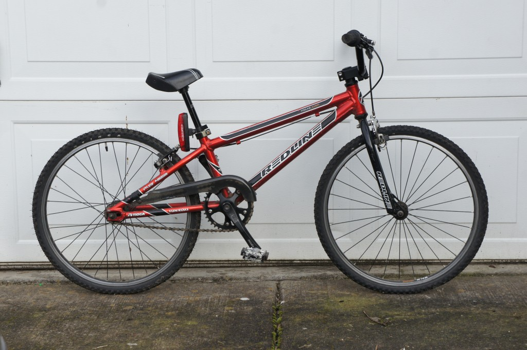 Redline Junior BMX race bike