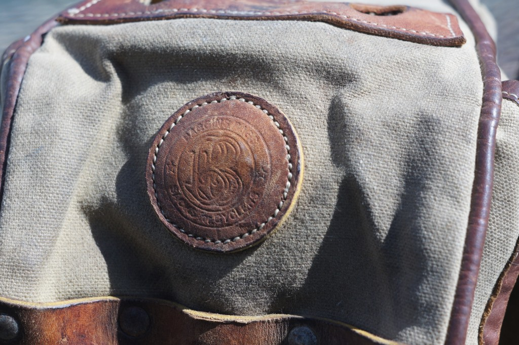 Baggins Bag leather patch