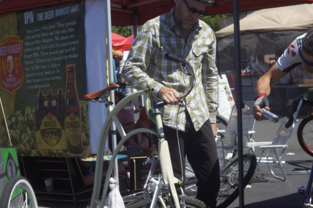 Tall bike, but not a tallbike.
