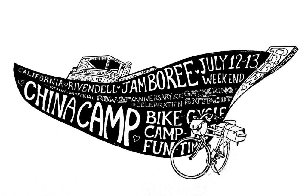rivendell owners bike jamboree - china camp
