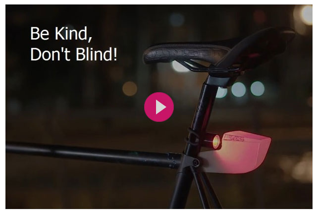 sombra bike light diffuser on indiegogo